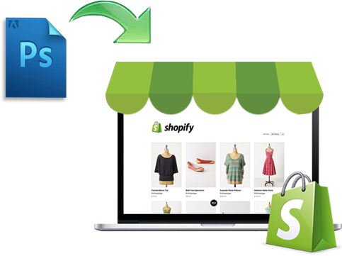 psd to shopify conversion services in Mumbai