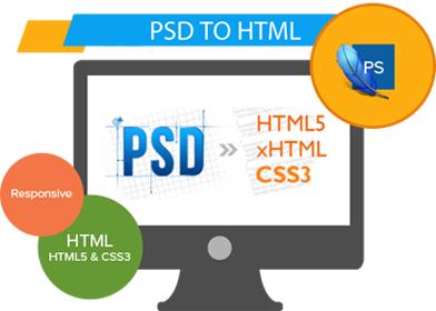 professional psd to html designer in Mumbai